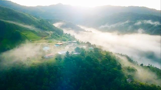 View Kampung Libang ulu tambunan