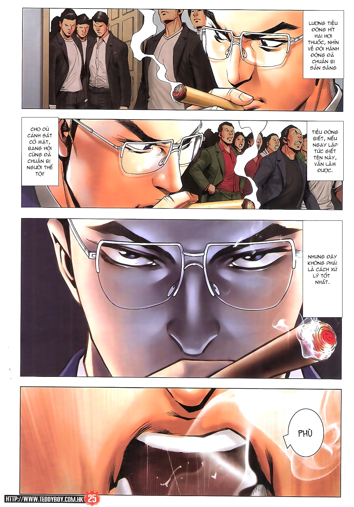 Người Trong Giang Hồ chapter 1889: power thật sự trang 24