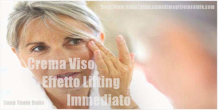 Crema viso effetto lifting immediato