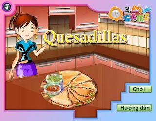 Game làm bánh pizza mexico