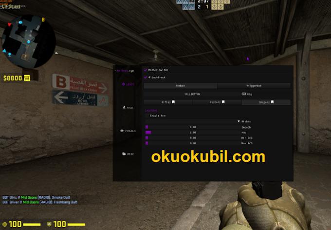 Counter Strike GO hellcat.xyz ESP, GLOW Öfke Menu Hilesi 05 Ağustos