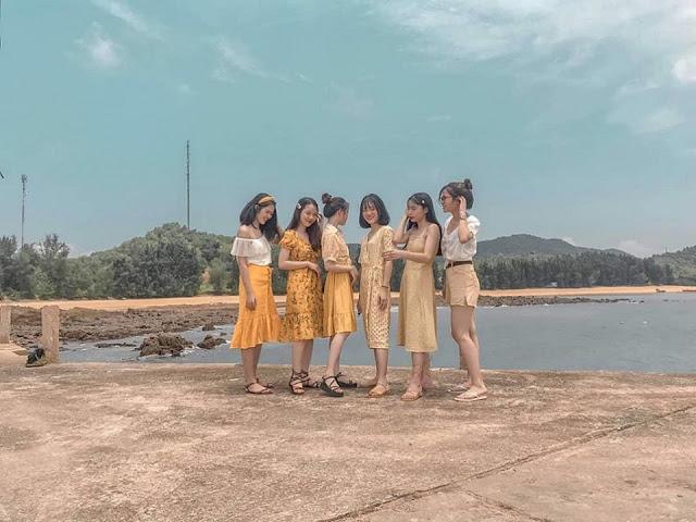 Đảo Cái Chiên Quảng Ninh đẹp bình yên qua ảnh check-in của giới trẻ 12