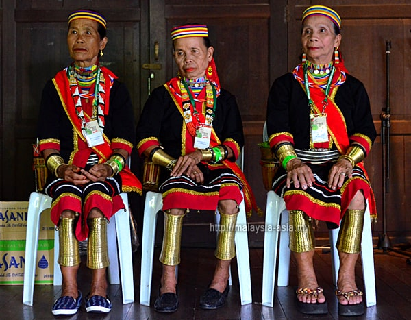 Ring Ladies of Sarawak