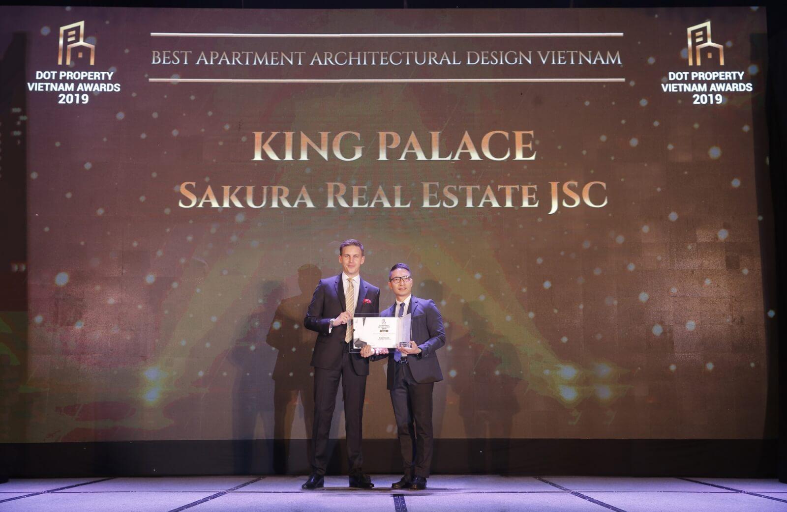 King Palace nhận giải thưởng bất động sản