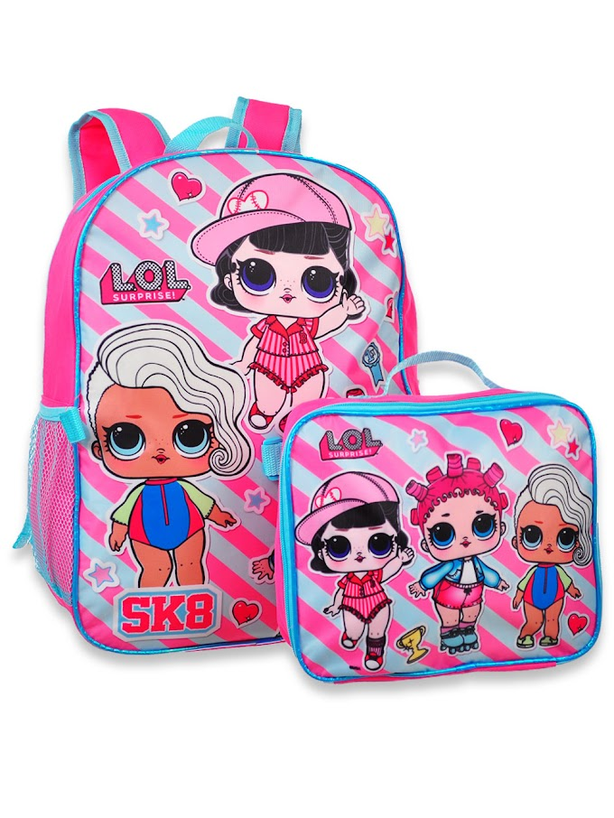 COOKIESKIDS - LOL SURPRISE BACKPACK WITH INSULATED LUNCHBOX $16.99