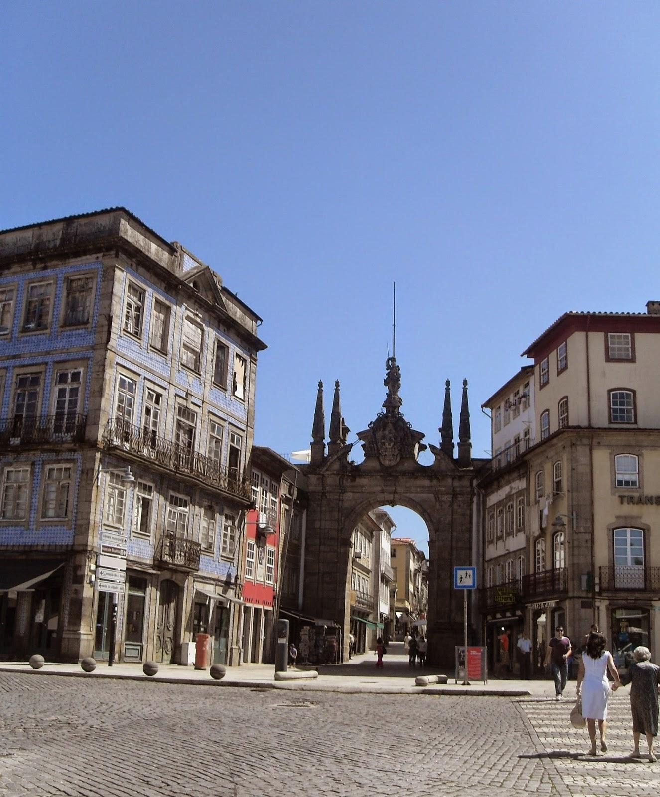 Recorrido por el centro de Braga