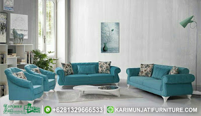 Set Sofa Tamu Mewah Modern Sabrina
