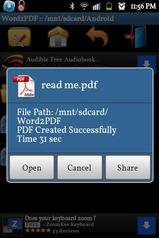 How to download a pdf into word