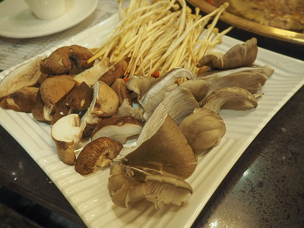 Chinese mushrooms