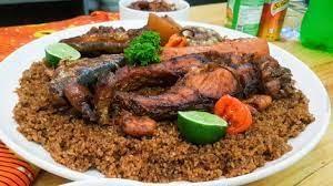 Cuisine, Yet, cymbium, camembert, mollusques, thiebu, dieun, coquille, séché, mer, riz, haricot, poisson, recette, plat, repas, LEUKSENEGAL, Dakar, Sénégal, Afrique