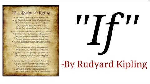 Summary of If Poem by Rudyard Kipling
