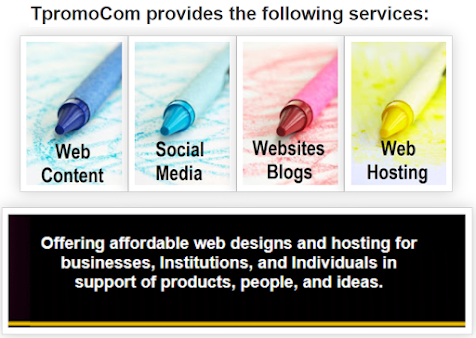 TpromoCom provides the following services (image)