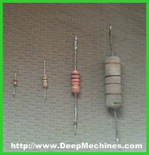 Mnegenal Komponen Resistor Axial lead