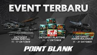 Event PB Garena Oktofest Roulette - 11 Oktober 2016