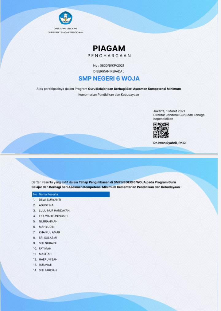 Contoh Soal Akm Pai Smp 2020 Studi Indonesia