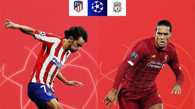 مشاهدة مباراة ليفربول واتلتيكو مدريد بث مباشر اليوم الثلاثاء 18 / 02 / 2020 الذهاب