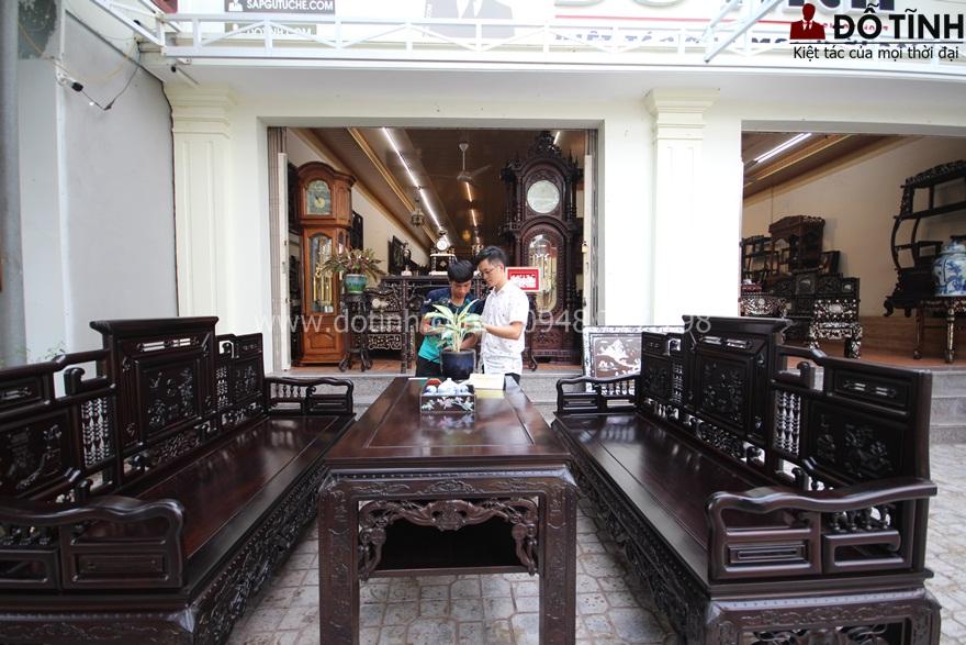 TK13 - Trường kỷ cổ đồ đại - Mẫu ghế trường kỷ Việt Nam được nhiều người săn lùng - Ảnh: Dotinh.com