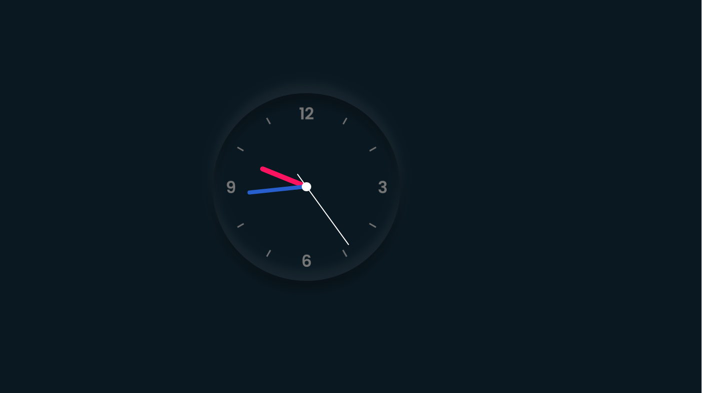 Make Analog Clock Using HTML, CSS, and JS (With Code)