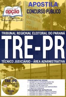 Apostila TREPR 2017 - Técnico Judiciário – Área Administrativa