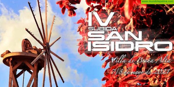 Este jueves cierra inscripciones la IV Subida San Isidro, primera cita sobre asfalto en la isla de La Palma