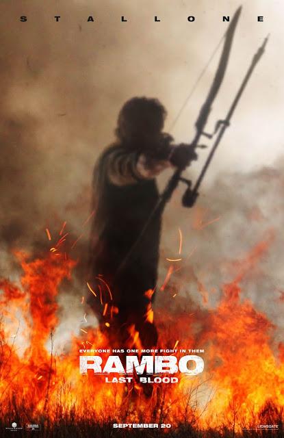 Poster oficial de Rambo V: Last Blood