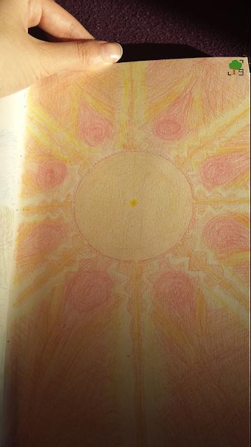 słońce, moja wizja