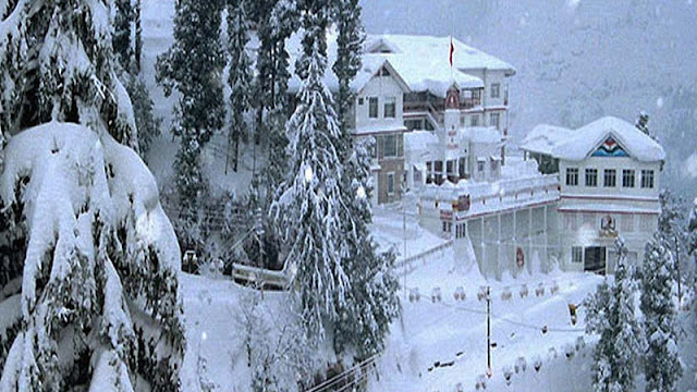 Dalhousie in winter Season
