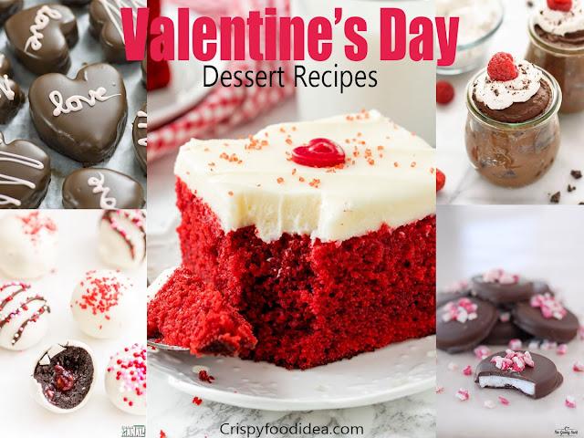valentine's day desserts recipes