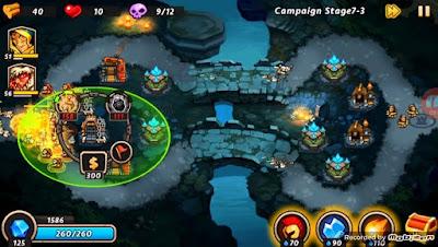 Castle defense 2 mod apk game