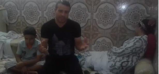 بالفيديو ..معاناة لا حدود لها لأسرة برشيدية