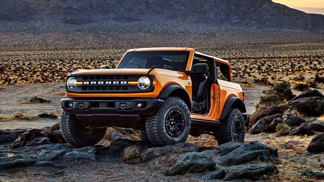 The 2021 Ford Bronco Runs On Bespoke Goodyear Tires Carguide Ph