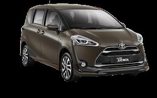 Harga dan spesifikasi Toyota Sienta Januari 2017 kudus