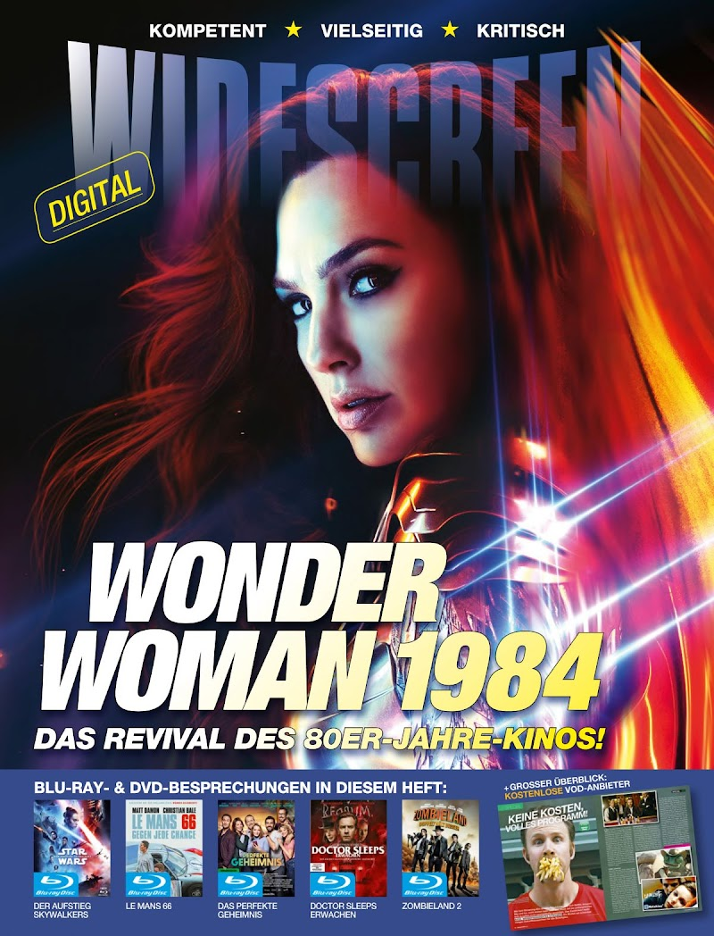 Gal Gadot Featured in Widescreen Magazine -Germany May 2020