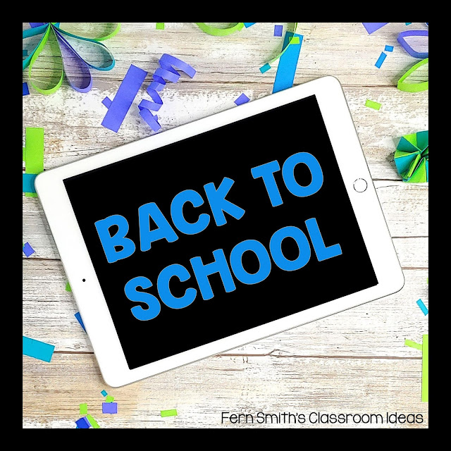 Time For Some Back To School Fun!