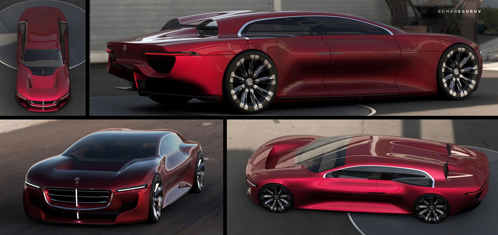 This Aerodynamic Mercedes-Benz Limousine Concept Aims To ...