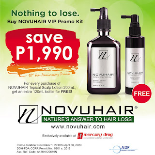 Get an Extra Bottle of Novuhair For Free!