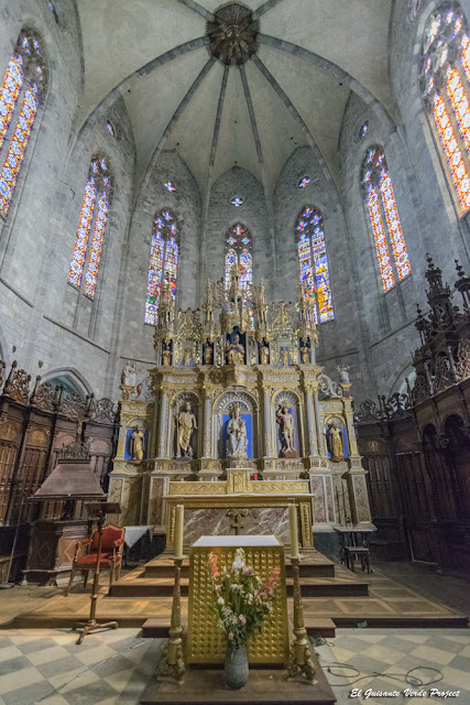 Altar Mayor, Catedral de Santa María, Saint Bertrand de Comminges por El Guisante Verde Project
