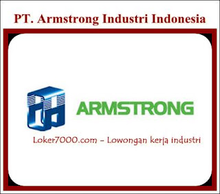 Lowongan Kerja SMA/SMK PT. Armstrong Industri Indonesia Cikarang Terbaru 2019