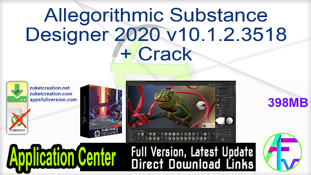 Allegorithmic Substance Designer 10.2.2.4285 + Crack