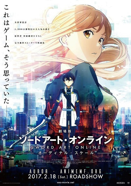 Sword Art Online Movie: Ordinal Scale [PELICULA][HD][Sub.Español][MEGA]