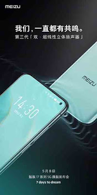Meizu 17 and Meizu 17 Pro phones will soon be available with 3G stereo speakers