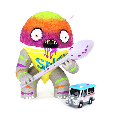 Abominable Snow Cone Tropical Cyclone Flavored Vinyl Figure by Jason Limon x Martian Toys