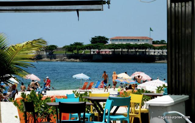Quiosque na Praia de Copacabana, Rio de Janeiro