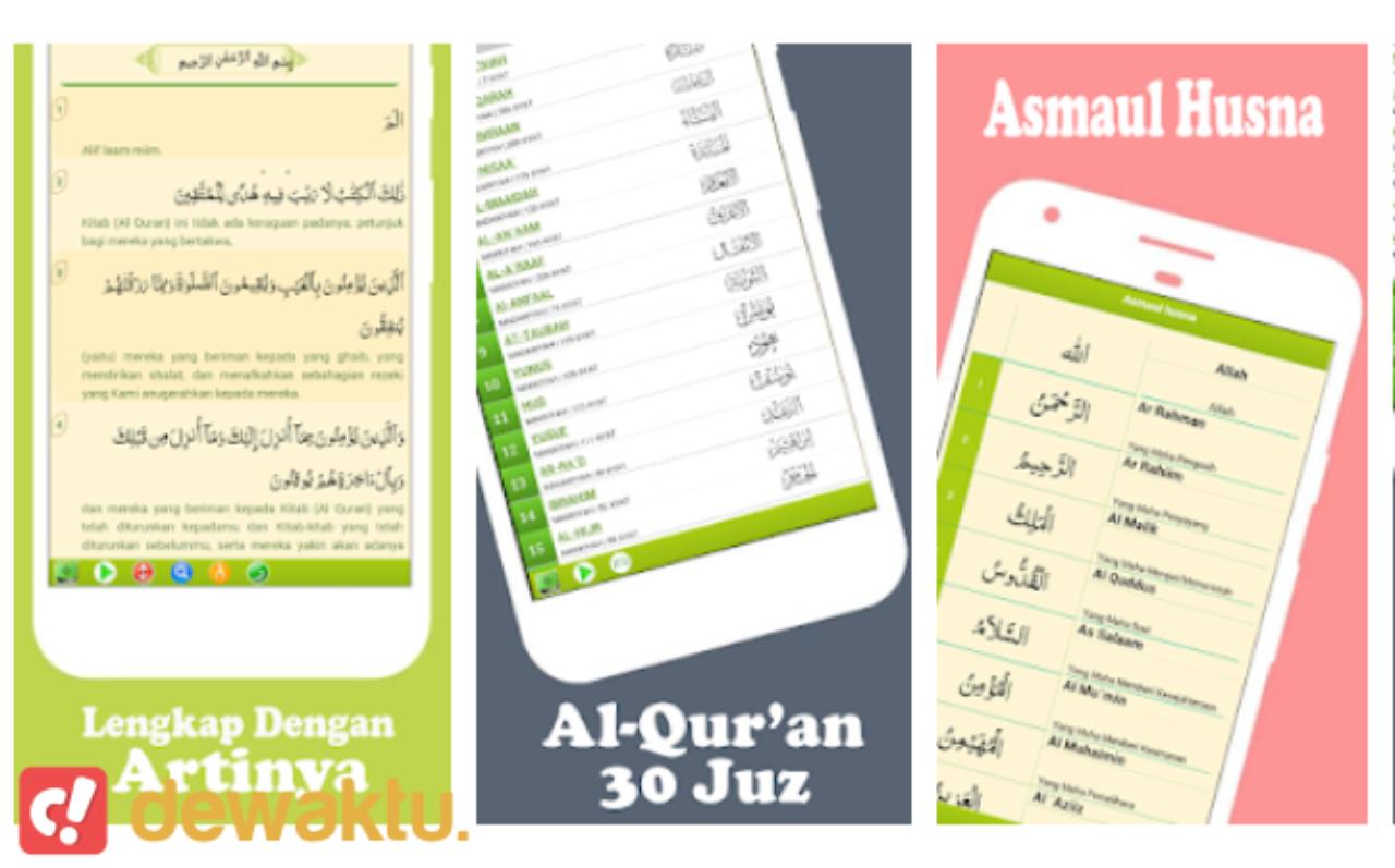 aplikasi android al quran dan terjemahan terbaik