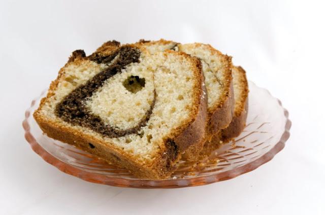 Cake marbré sans beurre