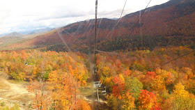 A view from Gondola at Vermont