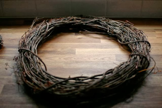 Holiday wreath - A quick and easy DIY