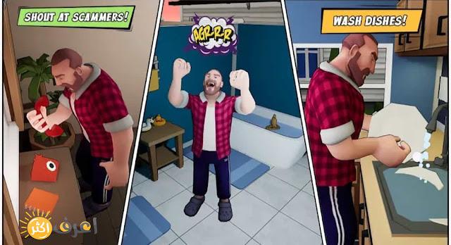 تحميل لعبة Angry Dad للاندرويد برابط مباشر مجانا 2021