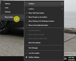 Cara Mengatur Taskbar Windows 10