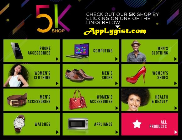 Visit Jumia 5k Shop Now Awoof Full Here